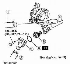2004 mazda 6 engine diagram 2004 mazda 6 idler pulley and thermostat my car started