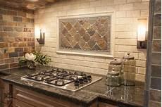 Rustic Kitchen Backsplash Ideas Modern Yet Rustic This Hearth Style Backsplash Features