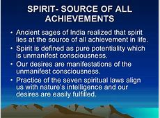 the 7 spiritual laws