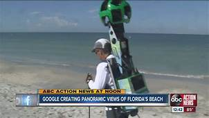Google Maps Street View Cameras On Tampa Bay Area Beaches