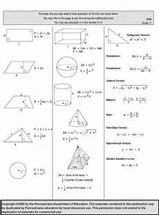 algebra worksheets grade 11 8414 grade11pssaformulasheet dankachel