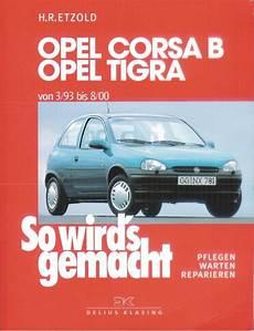 handbuch opel corsa b manual opel corsa b