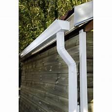 gouttière aluminium prix goutti 232 re aluminium blanc 3ml brico toiture