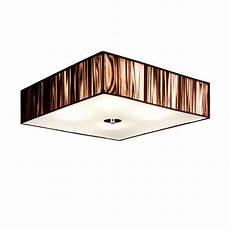 S Luce Deckenleuchte - s luce deckenleuchte 187 twine stoff 45x45 cm braun 171 otto