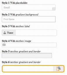 cool textbox design in html5 jquery 2 dotnet