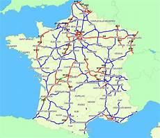 Carte Des Autoroutes De 2015 My