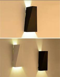2019 10w led modern light up down wall l square spot light sconce lighting home indoor wall