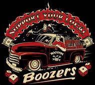 Dise&241o De Logotipo Para The Boozers Rockabilly Club
