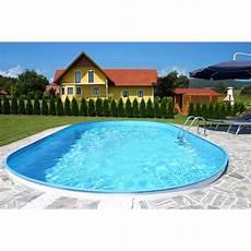 Schwimmbad Kaufen Garten - stahlwand pool set flamingo einbaubecken ovalform 800 cm x