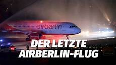 flug berlin das war der letzte flug der airberlin air berlin ab 6210