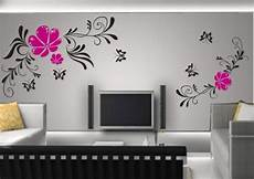 Home Decor Wall Painting Ideas by Easy Simple Wall Painting Designs For Living Room On Home