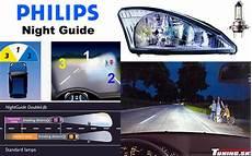 tuning philips nightguide 3 farby pre bezpečnosť jazdy