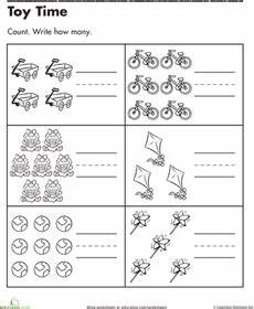 Time Counting Teaching Preschool Worksheets