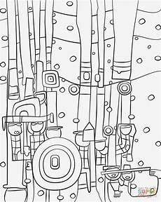 Malvorlage Hundertwasser Haus Ausmalbilder Hundertwasser Ausmalbild Club