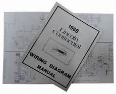1966 Lincoln Restoration Parts Wiring Diagram Manual Mp0056