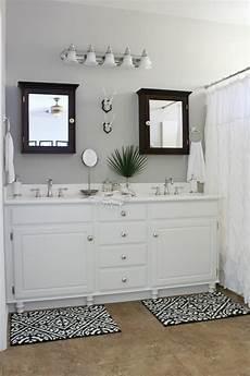 builder s grade bathroom makeover on a budget honey n hydrangea