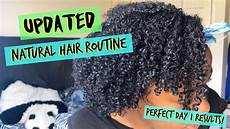 my updated wash day routine moisturized defined curls youtube