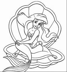 baby ariel coloring pages at getcolorings free