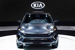 Kia Niro EV Concept Debuts At CES 2018 With 238 Miles Of