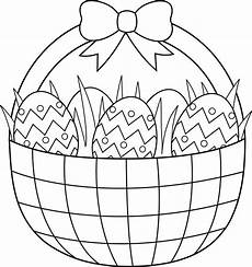 easter basket coloring pages part 3