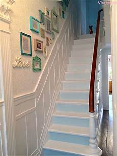 17 Shabby Chic Staircase Design Ideas