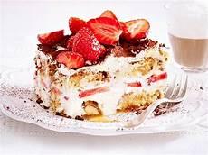 erdbeer tiramisu einfach erdbeer tiramisu rezept lecker