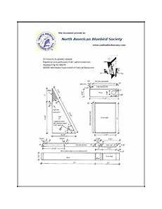 peterson bluebird house plans pdf fact sheets plans north american bluebird society