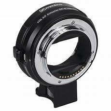 Anti Exposure Frame Mount With Lens by Electric Lens Mount Adapter Ring Af Auto Focus Aperture