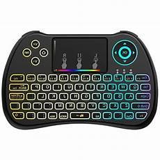 Colorful Backlit Mouse Mini Wireless Keyboard by Aerb 2 4ghz Colorful Backlit Mini Wireless Keyboard