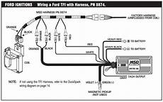 Efi System Wiring Diagram On 1995 Mustang Gt 5 0 by How To Install An Msd 6a Digital Ignition Module On Your