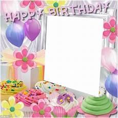cadre photo anniversaire gratuit montage photo cadre anniversaire pixiz