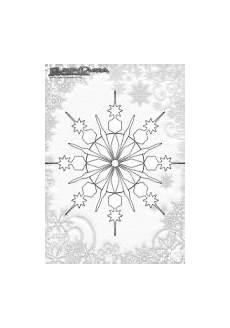 Ausmalbild Schneeflocken Mandala Winter Mandala Ausmalbild Schnee Flocke
