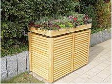 Holzverkleidung Haus Selber Machen - m 252 lltonnen verkleidung m 252 lltonnenbox selber bauen