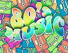 80er Jahre Musik Retro Konzept Vintage Poster Design
