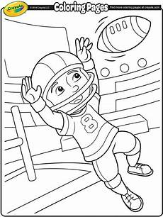 sports coloring pages printable 17726 football wide receiver coloring page crayola