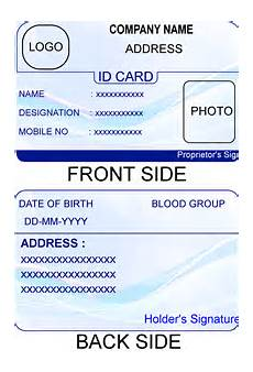 id card template in excel free free printable id cards templates vastuuonminun