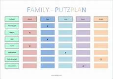 single haushalt einkaufsliste putzplan vorlage familie planen