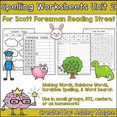 spelling reading worksheets 22532 reading grade 1 unit 2 supplemental spelling worksheets by mrs magee