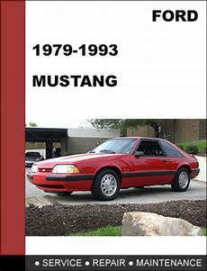 car service manuals pdf 1986 ford mustang electronic valve timing ford mustang 1979 1993 factory workshop service repair manual d