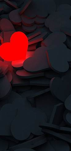 lightning love heart wallpaper 1440x3040