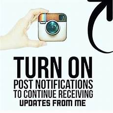 Gambar Turn On Post Notifications Instagram 2
