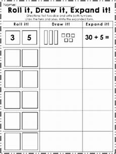 place value worksheets base 10 5035 base ten printable base ten worksheet roll it draw it expand it place value