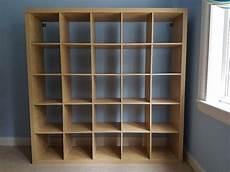 ikea expedit 5 x 5 cube shelving storage in edinburgh