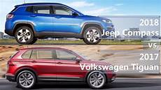 jeep compass 2017 dimensions 2018 jeep compass vs 2017 volkswagen tiguan technical