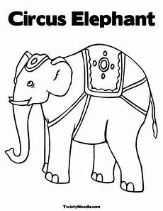 circus elephant coloring page elephant coloring page