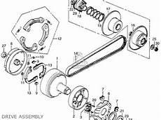 honda pa50ii hobbit 1980 a usa 30 mph parts list partsmanual partsfiche