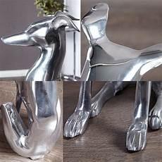 deko skulptur windhund galgo espa 241 ol silber aus