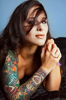 best beautiful naked tattooed women stock photos pictures