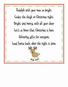 rudolph poem pdf poems preschool poems