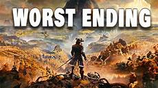 greedfall reveal everything en on mil said or say nothing greedfall worst possible ending everyone dies youtube